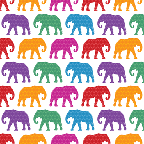 Exotic Elephants fabric by robyriker on Spoonflower - custom fabric