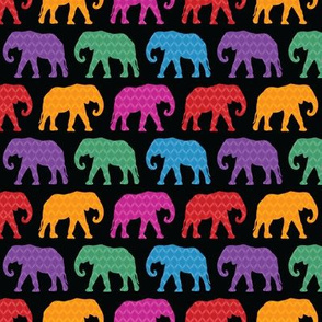 Exotic Elephants (Dark)