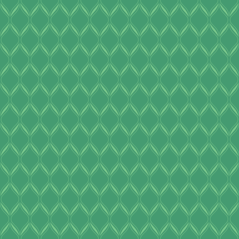 Green Ogee fabric by robyriker on Spoonflower - custom fabric