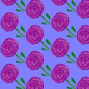 Purple Rain Flowers, small