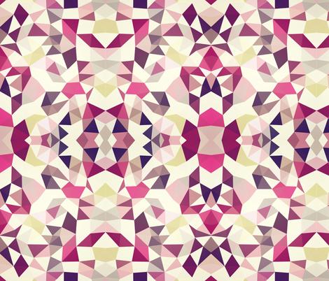 Rose Garden Tribal fabric by beththompsonart on Spoonflower - custom fabric