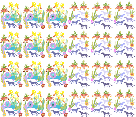Little Prince had a strange dream 4 fabric by tiina_laas on Spoonflower - custom fabric