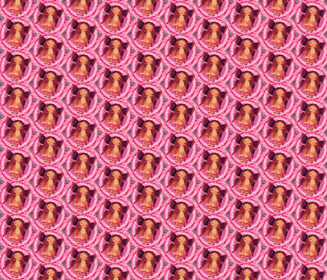 Fairy Pink Petulla fabric by janshackelford on Spoonflower - custom fabric