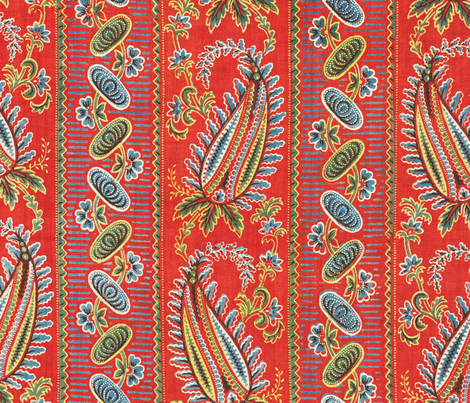 Backing of an adras ikat panel fabric by tomhaggerty on Spoonflower - custom fabric