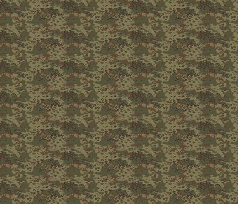 1/6 Scale Oak Multicam Camo fabric by ricraynor on Spoonflower - custom fabric