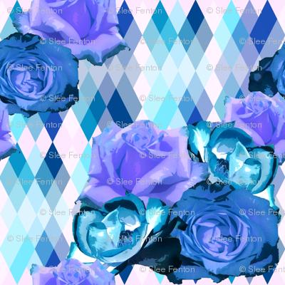 Spring Blooms Blue