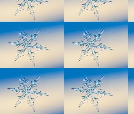 Snow Flakes  fabric by ninka on Spoonflower - custom fabric