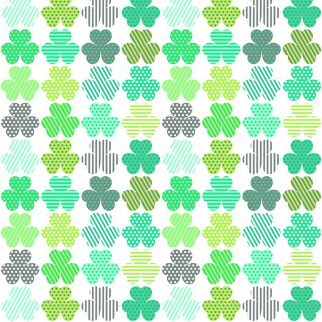 Shamrock Shuffle fabric by veritymaddox on Spoonflower - custom fabric