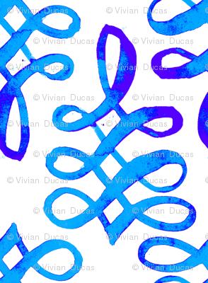 cestlaviv_blueblueknots poster