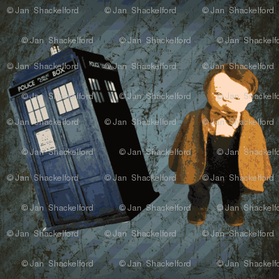 Dr. Who Jan Shackelford baby