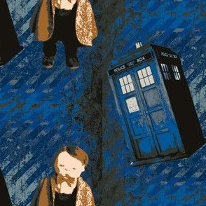 Dr. Who Jan Shackelford Baby Art