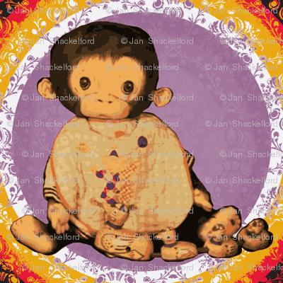 Monkey Mookie the Chimp