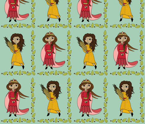 Esther and Ruth fabric by molipop on Spoonflower - custom fabric