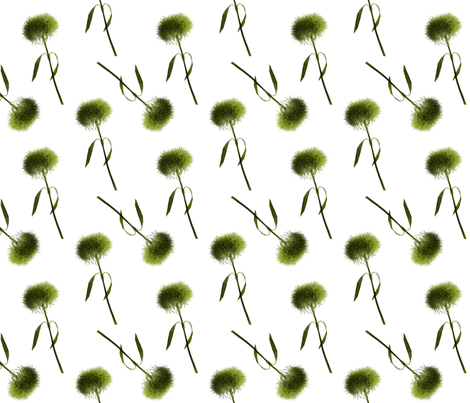 Green Spring fabric by powellingaround on Spoonflower - custom fabric
