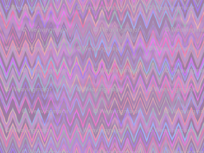 zigzag in raspberry ice