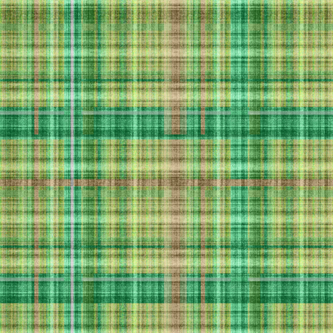 Emerald plaid fabric by joanmclemore on Spoonflower - custom fabric