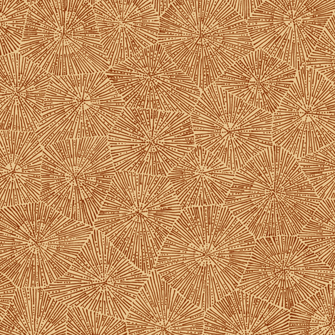 petoskey stone in brown fabric by weavingmajor on Spoonflower - custom fabric