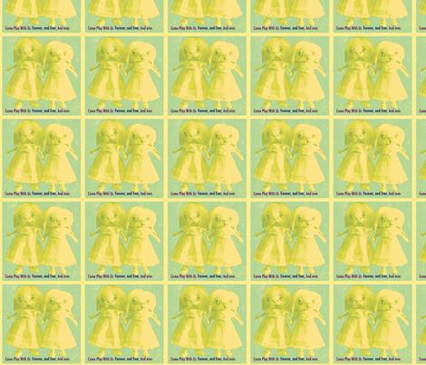 The Shining Twins #2 fabric by janshackelford on Spoonflower - custom fabric
