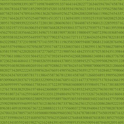 10,000 pieces of Key Lime pi fabric by weavingmajor on Spoonflower - custom fabric
