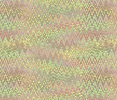 zigzag in mother of pearl fabric by weavingmajor on Spoonflower - custom fabric