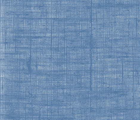 French Blue Linen fabric by bunni on Spoonflower - custom fabric