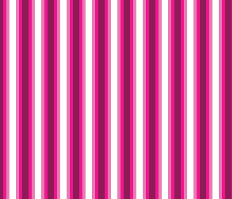 Thick Pink Watermelon Stripes fabric by elsielevelsup on Spoonflower - custom fabric