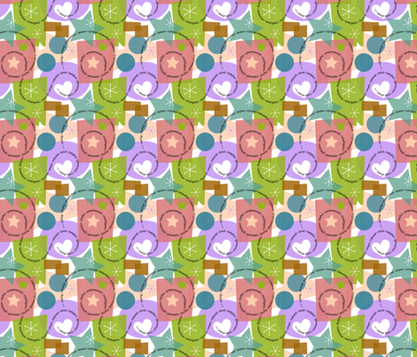 All Girls Are All That fabric by dianne_annelli on Spoonflower - custom fabric