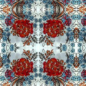 teardrop floral