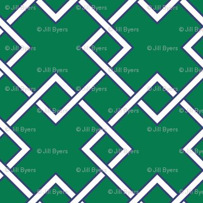 Lattice - emerald
