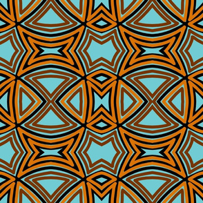 basket-weave-blue brown