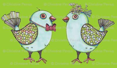 lovebirdsfabric