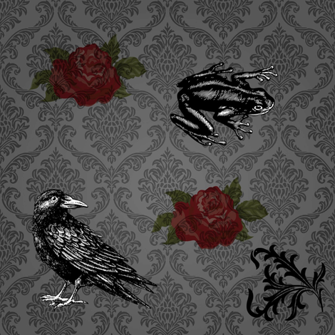 Something Wicked This Way Comes fabric by fentonslee on Spoonflower - custom fabric