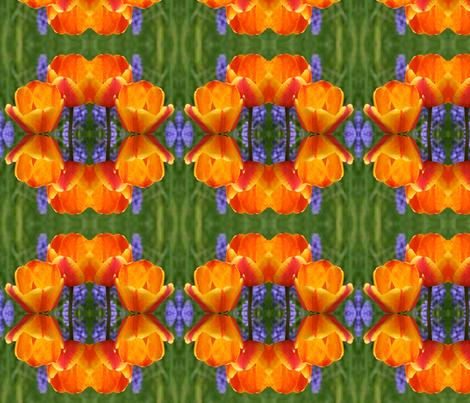 Tulips_6380 fabric by falcon11 on Spoonflower - custom fabric
