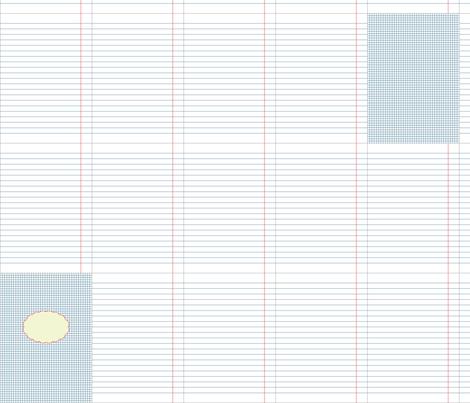 retrostyle textile notebook fabric by ravynka on Spoonflower - custom fabric