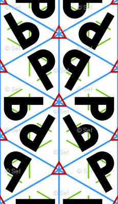 symmetry group p3m1