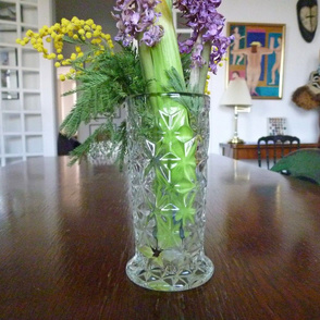 Old Flowers on the Dining Table