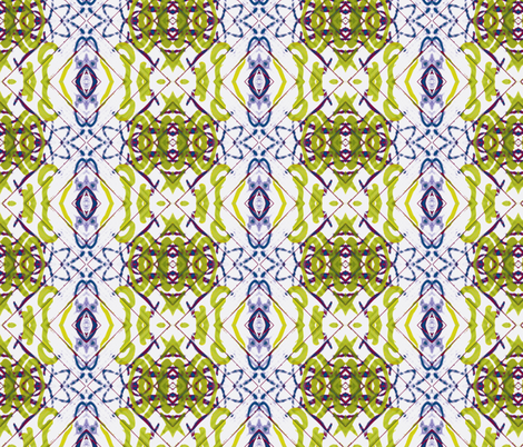 Initial Thoughts, variation two fabric by susaninparis on Spoonflower - custom fabric