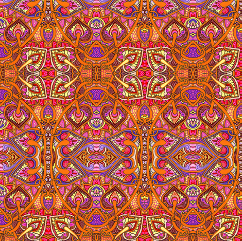 After a Hard Day of Slaying Dragons fabric by edsel2084 on Spoonflower - custom fabric
