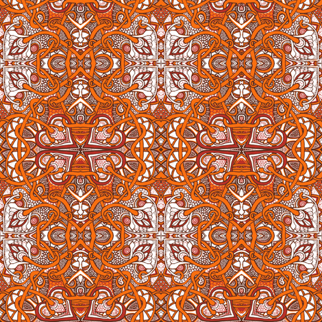 When the Frost is on the Pumpkins fabric by edsel2084 on Spoonflower - custom fabric
