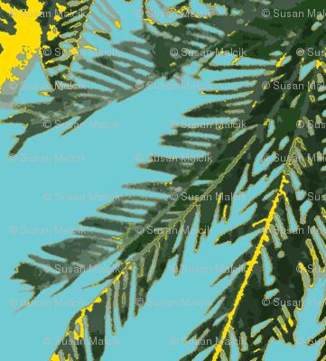 Mimosa Leaves