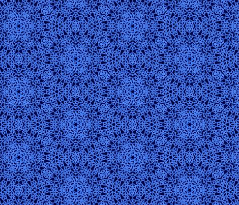 Indigo Lace fabric by beckarahn on Spoonflower - custom fabric