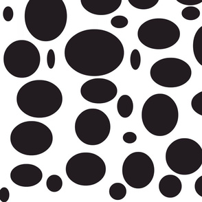 Black And White Polka Dots