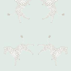 Zebras High 5_faint saltwater