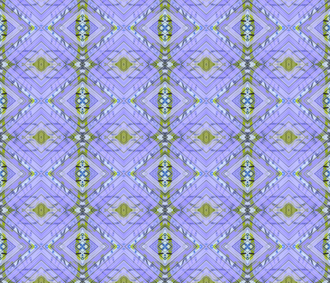 Purple Dawn Squared fabric by susaninparis on Spoonflower - custom fabric
