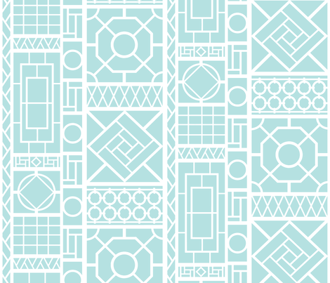 trellis on 7464u/B5E1E1 fabric by danikaherrick on Spoonflower - custom fabric