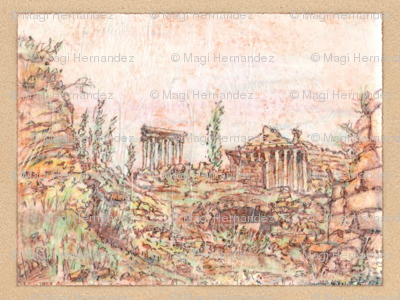 Memories of Grandeur -  Baalbek in Ruins