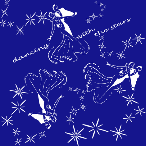 dance with the stars fabric by krs_expressions on Spoonflower - custom fabric