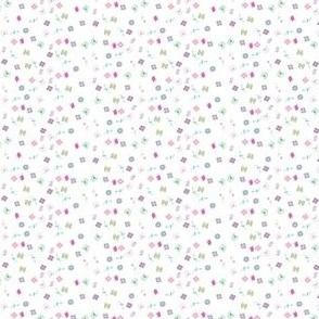Tiny pastel flowers
