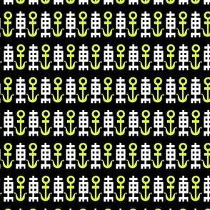 Tiny Nautical Chinoiserie