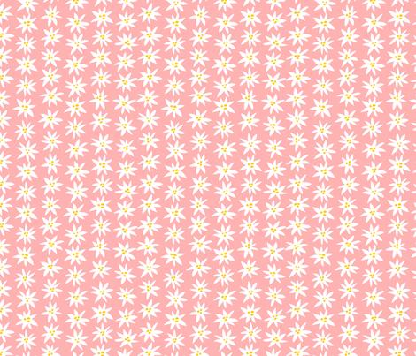 Connie Lynn—Pink Daisy fabric by jewelraider on Spoonflower - custom fabric